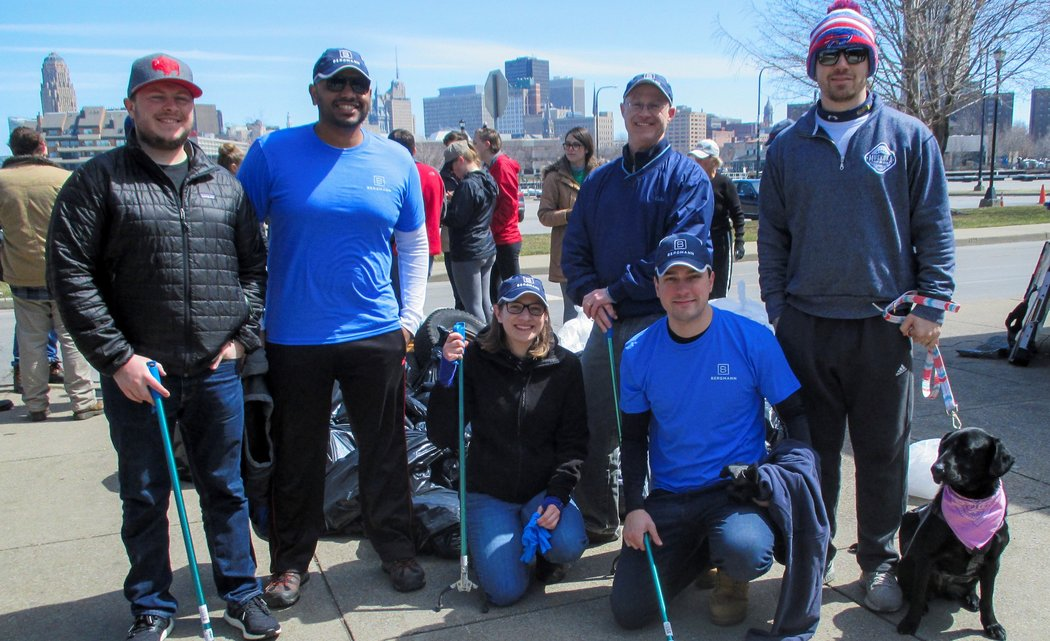 Buffalo Bergmann Young Professionals Celebrate Earth Day