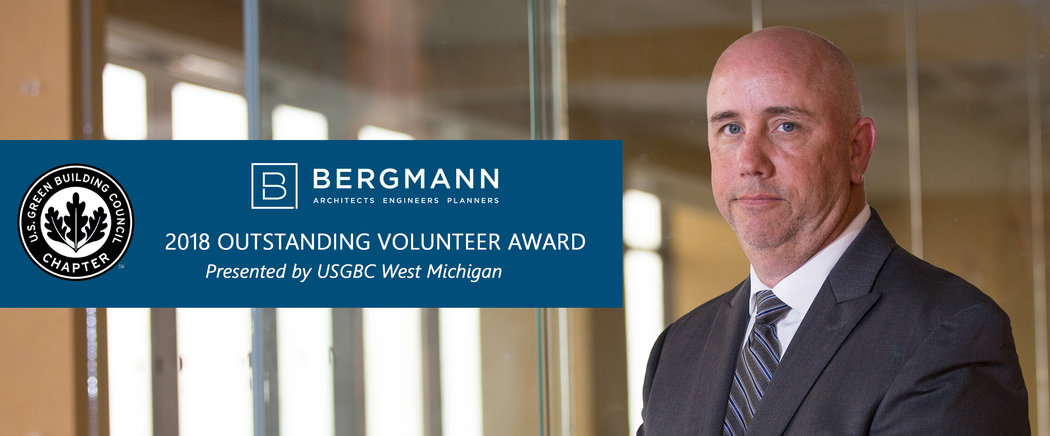 Bergmann Michigan - Outstanding Volunteer Award- Lansing Michigan