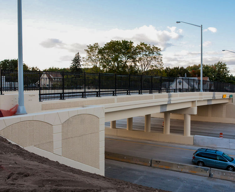 Eastern Avenue over I-196, Bridge Replacement, Grand Rapids MI