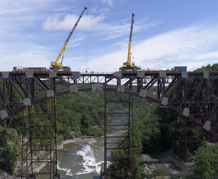 Norfolk Southern Railroad Bridge Replacement Portageville Ny