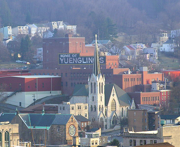 Pottsville Revitalization Plan, Pottsville PA