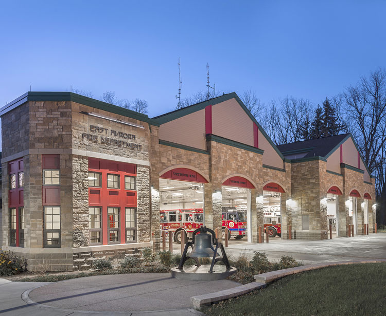 East Aurora Fire Station, East Aurora NY