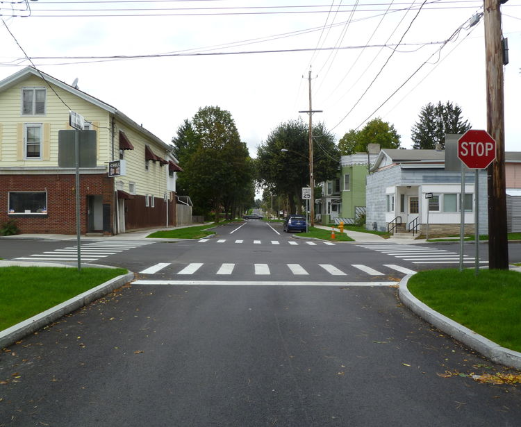 North Main Street Enhancement Project, Elmira NY