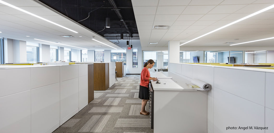 Bergmann Corporate Headquarters, Work Space, Rochester NY