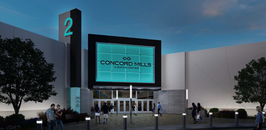 Concord Mills, Exterior, Charlotte NC