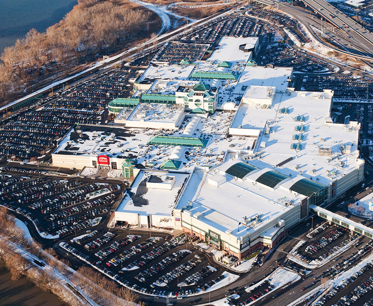 Destiny USA Mall, Aerial View, Syracuse NY