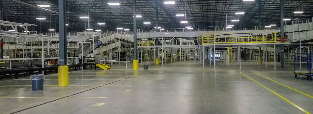 Fed Ex Distribution Center, Interior, Hampton VA
