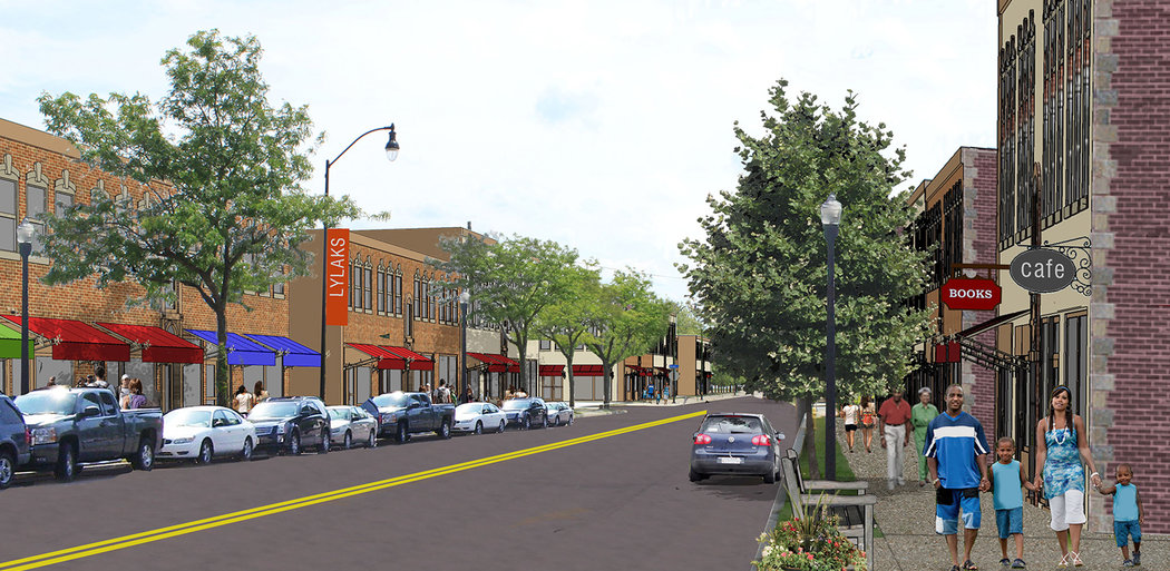 LYLAKS Revitalization Strategy, Commercial Corridor Concept, Rochester NY