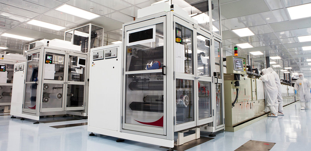 EBP Cleanroom for new manufacturing line lorez