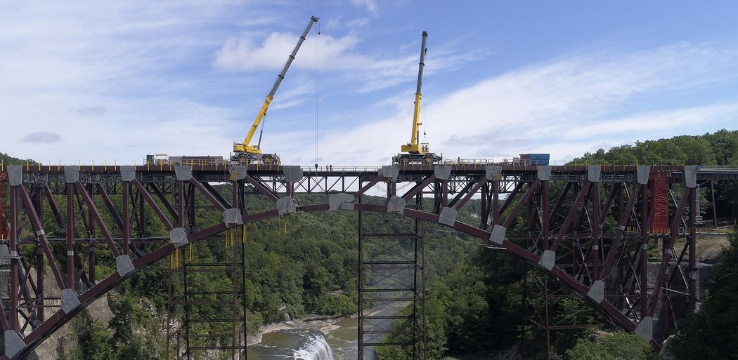Genesee Arch Bridge / Portageville Bridge Replacement, Portageville NY