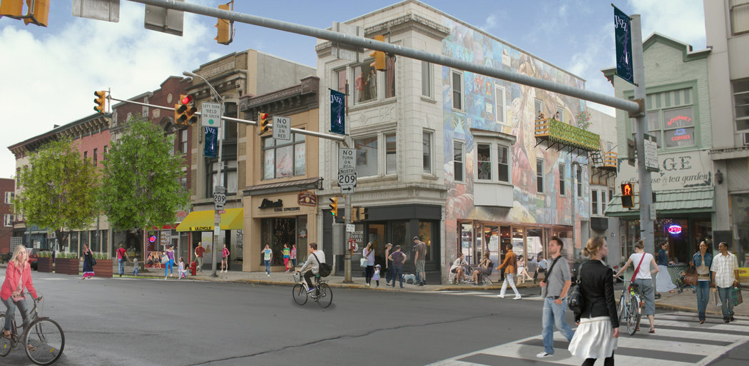 Pottsville Revitalization Plan, Living, Pottsville, PA
