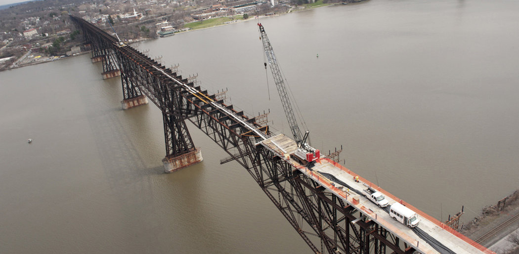 Walkway Over The Hudson Construction, Poughkeepsie NY