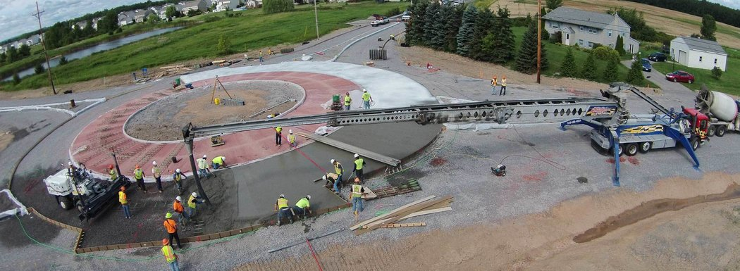 Ontario County Shortsville Road Roundabout, Intersection Replacement, Farmington, NY
